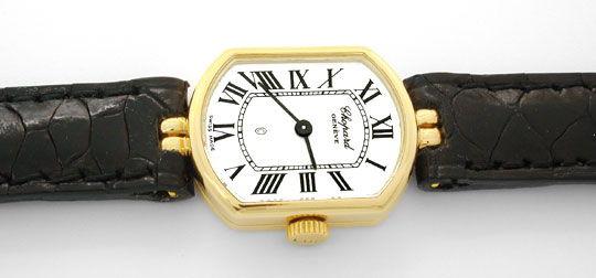 Foto 1, Chopard Damen Armbanduhr Gelbgold Quarz Topuhr Neuzust., U1077