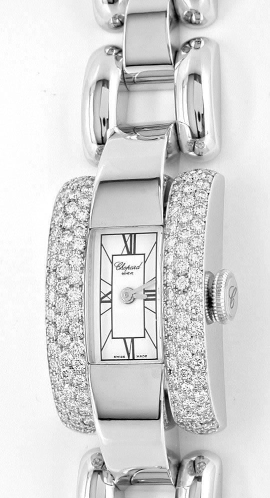 Foto 2, Chopard La Strada Da Weissgold Diamanten Geprüft Neuz.!, U1091