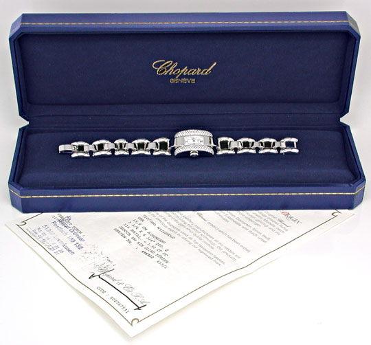 Foto 5, Chopard La Strada Da Weissgold Diamanten Geprüft Neuz.!, U1091