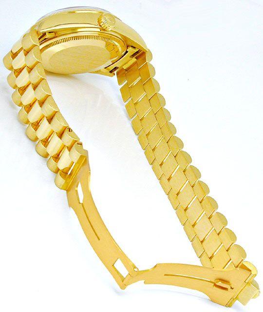 Foto 4, Rolex Day Date Präsidentarmband Gelbgold Geprüft Neuw.!, U1093