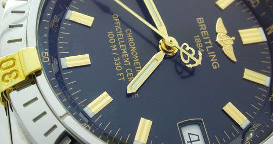 Foto 3, Breitling Wings Automatik Chronometer Topuhr Ungetragen, U1100