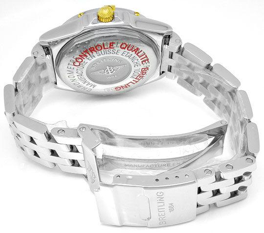 Foto 4, Breitling Wings Automatik Chronometer Topuhr Ungetragen, U1100