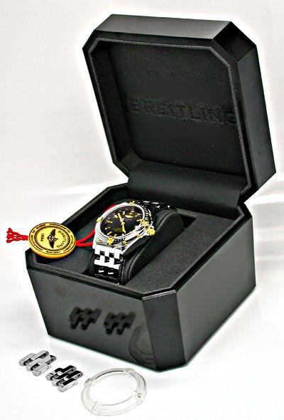 Foto 5, Breitling Wings Automatik Chronometer Topuhr Ungetragen, U1100