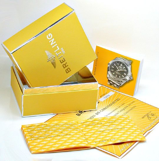 Foto 6, Breitling Wings Automatik Chronometer Topuhr Ungetragen, U1100