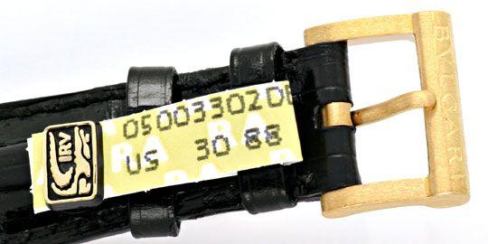 Foto 5, Bulgari Diagono Automatik, Hr Bvlgari Gold Kroko Topuhr, U1101