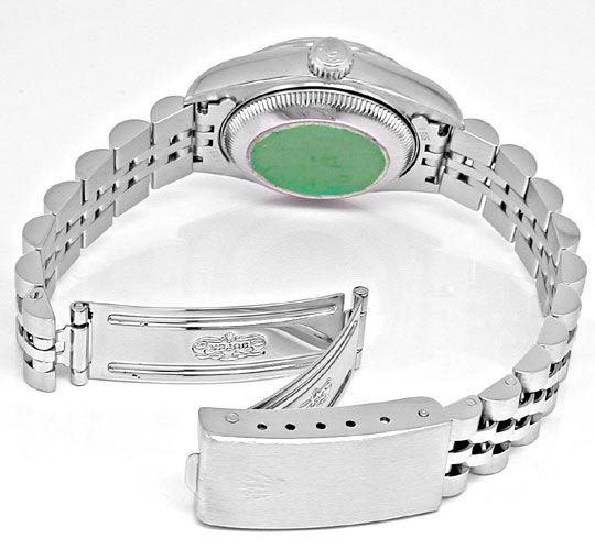 Foto 4, Rolex Date Damen Oyster Perpetual Stahl Topuhr Neuzust., U1102