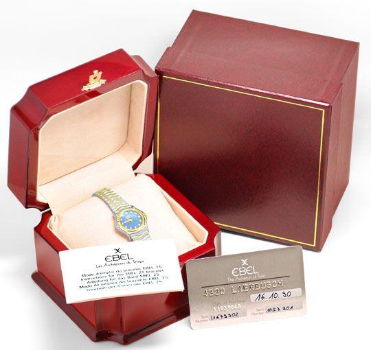 Foto 5, Ebel Mini Sport Classic Perlmutt Diamanten Ziff. Topuhr, U1104