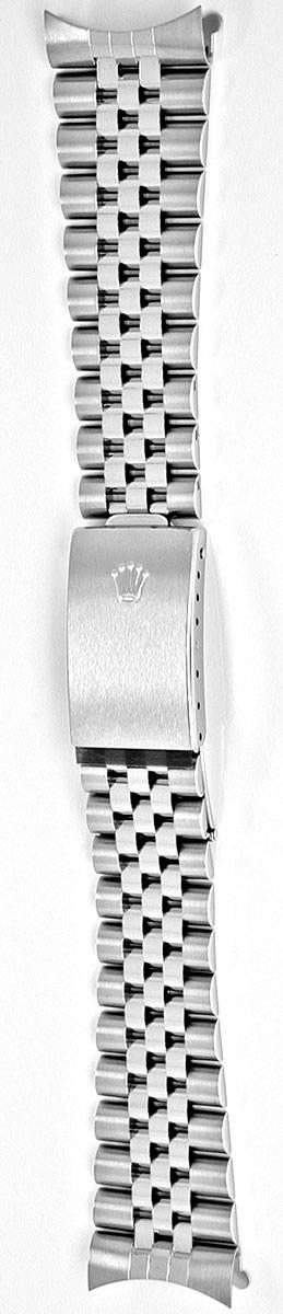 Rolex Herren Uhrenarmband Jubilee Stahl Shop Ungetragen, U1106