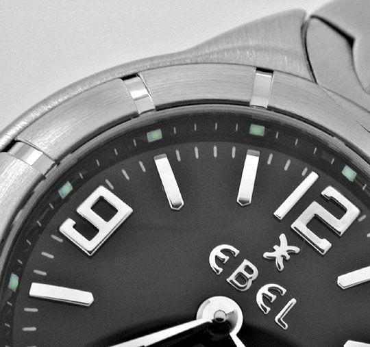 Foto 3, Ebel E Type Mini Damen Armbanduhr ST Topuhr Ungetragen!, U1115