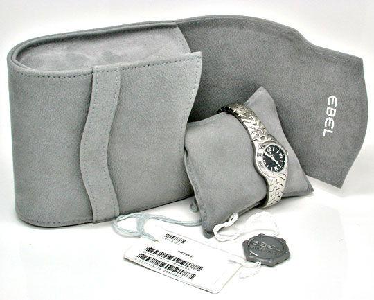 Foto 5, Ebel E Type Mini Damen Armbanduhr ST Topuhr Ungetragen!, U1115