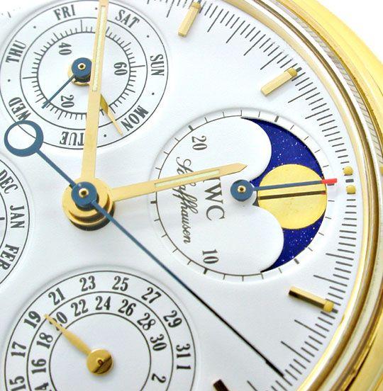 Foto 3, IWC Da Vinci Ewiger Kalender Chronograph Geprüft Neuz.!, U1120