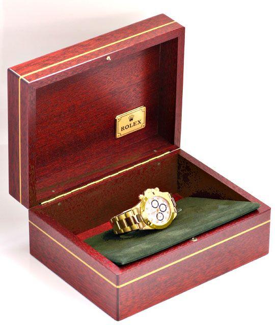 Foto 5, Rolex Cosmograph Daytona Gold Diamanten, Geprüft Neuz.!, U1124