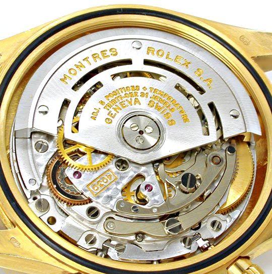 Foto 8, Rolex Cosmograph Daytona Gold Diamanten, Geprüft Neuz.!, U1124