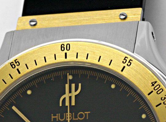 Foto 3, Hublot Mdm Chronograph Sport Stahlgold Kautschuk Topuhr, U1131