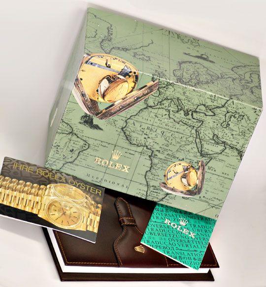 Foto 6, Rolex Day Date Rinde Diamantzifferblatt Schwarz Geprüft, U1138