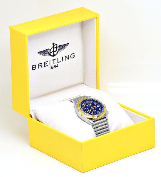Foto 5, Breitling Chronomat Stahlgold Rouleaux, Topuhr F.Neuz.!, U1143