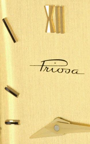 Foto 3, Massiv Goldene Damen Armbanduhr Goldband, Priosa Topuhr, U1155