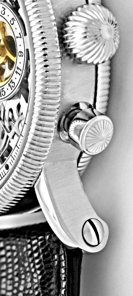 Foto 4, Chronoswiss Opus Platin Chronograph Skelletiert Geprüft, U1160
