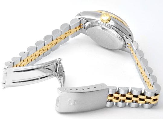 Foto 4, Rolex Datejust Da Stahlgold, Diamant Zifferblatt Topuhr, U1169