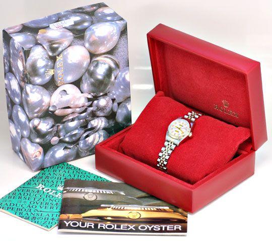 Foto 5, Rolex Datejust Da Stahlgold, Diamant Zifferblatt Topuhr, U1169