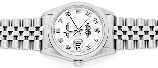 Foto 1, Rolex Datejust Hr Stahl Oyster Perpetual Jubilee Topuhr, U1170