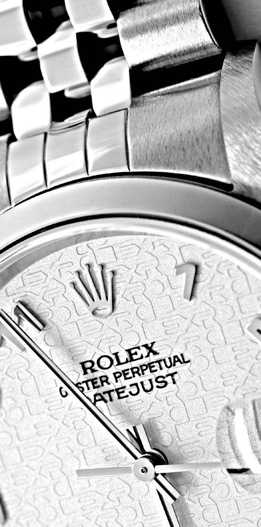 Foto 3, Rolex Datejust Hr Stahl Oyster Perpetual Jubilee Topuhr, U1170