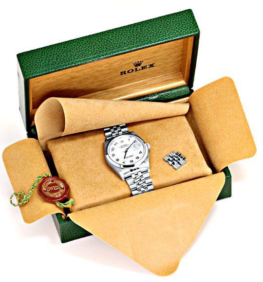 Foto 5, Rolex Datejust Hr Stahl Oyster Perpetual Jubilee Topuhr, U1170