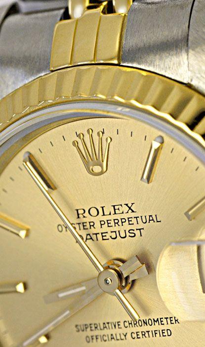 Foto 4, Rolex Datejust Damen STG Jubilee Automatik Datum Topuhr, U1191