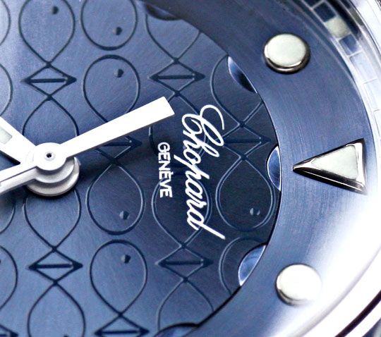 Foto 4, Chopard Diamant Uhr Happy Sport Happy Fish Beach Topuhr, U1192