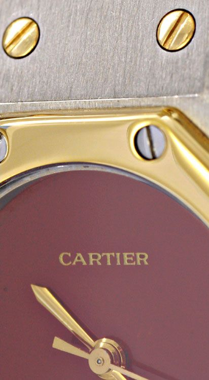 Foto 4, Cartier Santos Ronde 8 Eckig Damen Automatik STG Topuhr, U1197