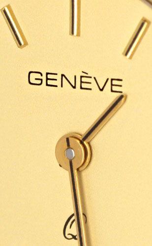 Foto 3, Damenarmbanduhr massiv Gelbgold Goldsportarmband Topuhr, U1206