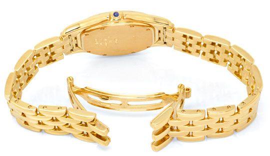 Foto 4, Panthere Cougar.de Cartier Herren Uhr Gelb Gold Geprüft, U1216