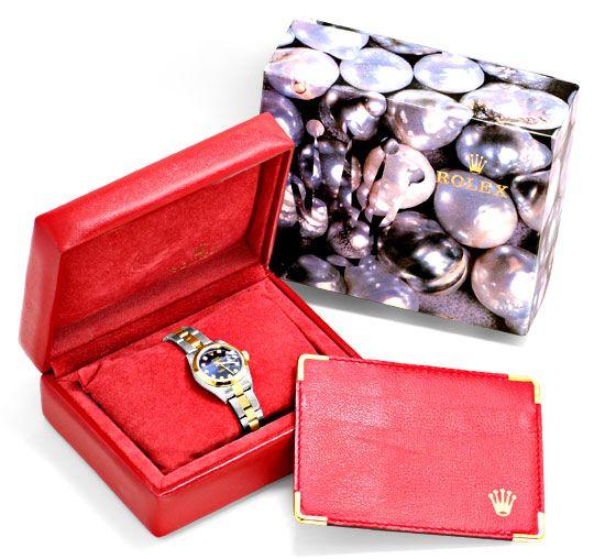 Foto 6, Rolex Datejust Dame Stahlgold Diamantzifferblatt Topuhr, U1224