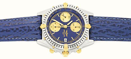 Foto 1, Breitling Uhr Chronomat Windrider 1884 Stahlgold Topuhr, U1228
