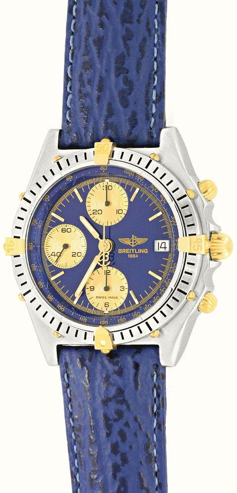Foto 2, Breitling Uhr Chronomat Windrider 1884 Stahlgold Topuhr, U1228