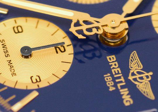 Foto 3, Breitling Uhr Chronomat Windrider 1884 Stahlgold Topuhr, U1228