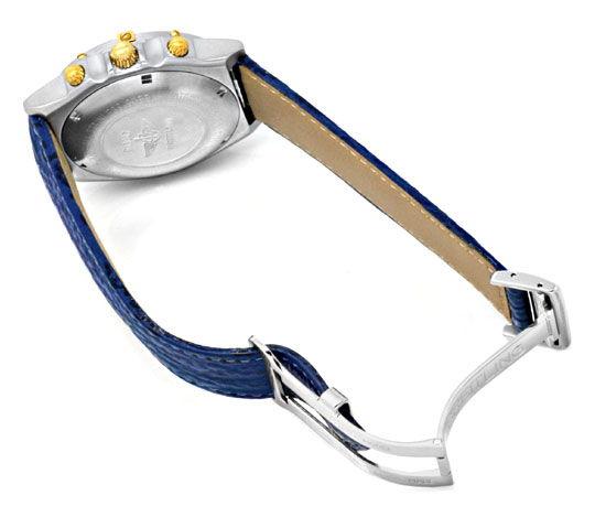 Foto 5, Breitling Uhr Chronomat Windrider 1884 Stahlgold Topuhr, U1228