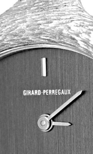 Foto 3, Girard Perregaux Brillant Damenuhr 18K Weissgold Topuhr, U1231