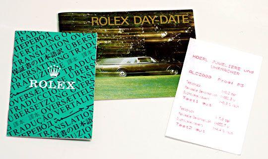 Foto 8, Rolex Daydate Automatik Day Date Gold Präsident Geprüft, U1233