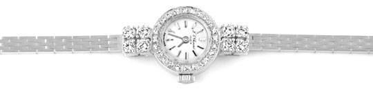 Foto 1, Chopard Classic Femme 0,94ct Diamanten Weissgold Topuhr, U1239