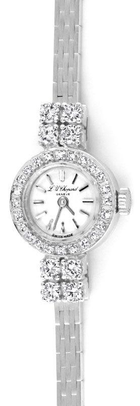 Foto 2, Chopard Classic Femme 0,94ct Diamanten Weissgold Topuhr, U1239