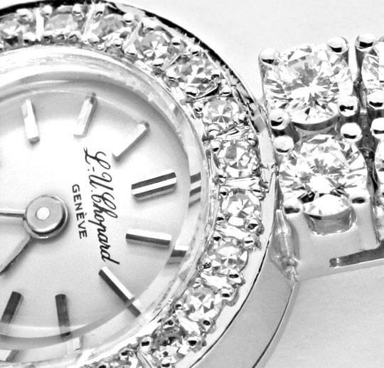 Foto 3, Chopard Classic Femme 0,94ct Diamanten Weissgold Topuhr, U1239