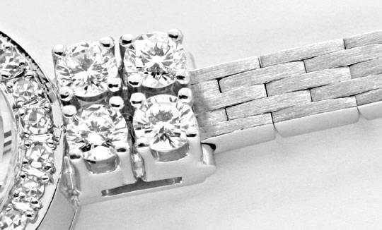 Foto 4, Chopard Classic Femme 0,94ct Diamanten Weissgold Topuhr, U1239