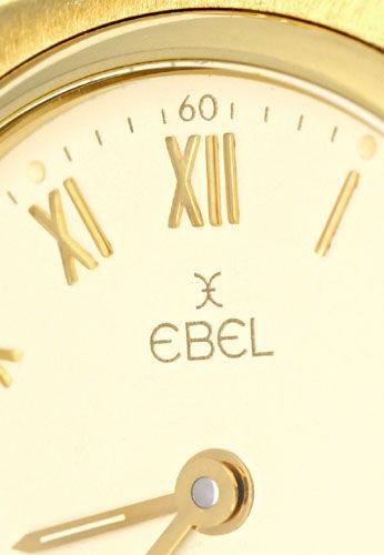 Foto 3, Ebel 1911 Damen Armbanduhr Gelb Gold Geprüft Neuzustand, U1251