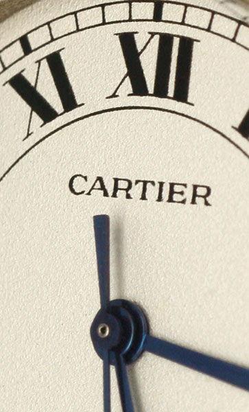 Foto 3, Panthere Vendome.de Cartier Herren 3Goldstreifen Topuhr, U1252