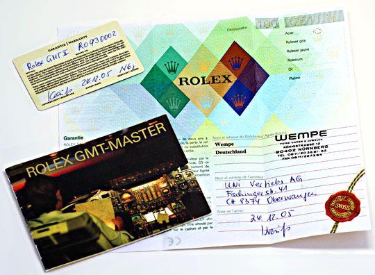 Foto 6, Rolex GMT Master II Oysterlock Stahl Topuhr Neuzustand!, U1254