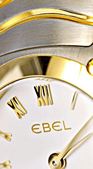 Foto 3, Neue Ebel Classic Wave Mini Damenuhr Stahlgold Q Topuhr, U1260