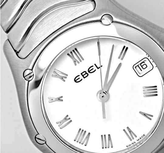 Foto 4, Neue Ebel Classic Wave Lady Damenuhr Edelstahl Q Topuhr, U1261