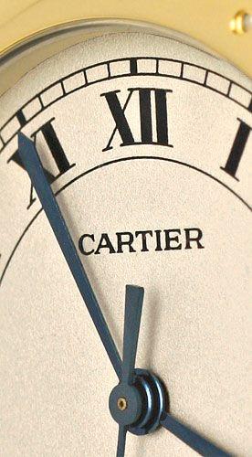 Foto 3, Panthere Cougar de Cartier Herrenuhr mit 2Streifen Gold, U1262