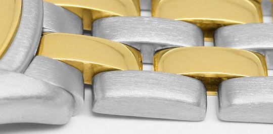 Foto 4, Panthere Cougar de Cartier Herrenuhr mit 2Streifen Gold, U1262
